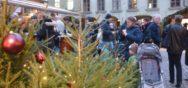 Erste Eindruecke 1465 Album Berner Münster Weihnachtsmarkt