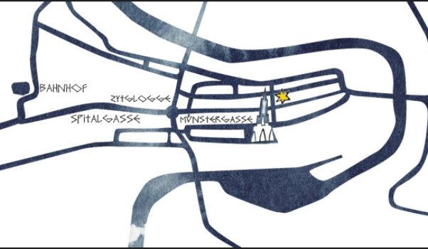 Berner Münster Weihnachtsmarkt Lageplan Berner Muenster Weihnachtsmarkt 1