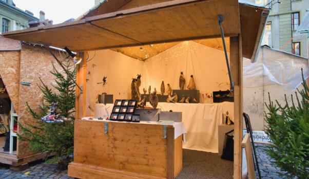 Davidstand18 1 Berner Münster Weihnachtsmarkt