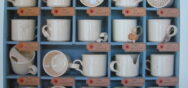 Tasses absurdes Handwerker Berner Münster Weihnachtsmarkt